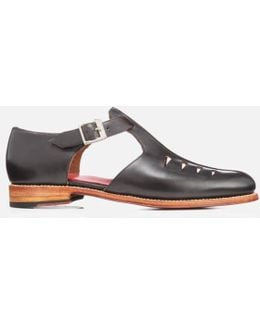 Men's Rafferty Leather Buckled Shoes