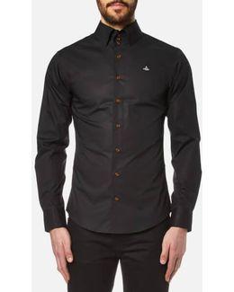 Men's Stretch Poplin Krall Long Sleeve Shirt