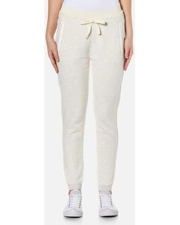 Women's Home Alone Joggers With Woven Detailing