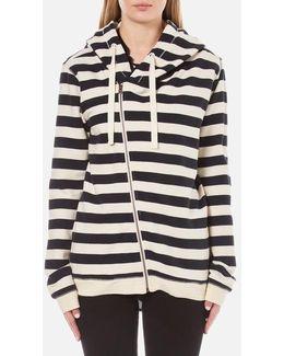 Women's Home Alone Double Hooded Sweatshirt With Zip Closure