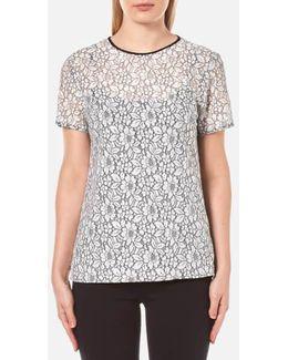 Women's Lace Tshirt