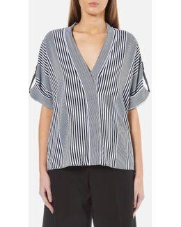 Women's Corsican Stripe Short Sleeve Top