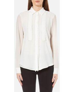 Women's Fray Detail Shirt
