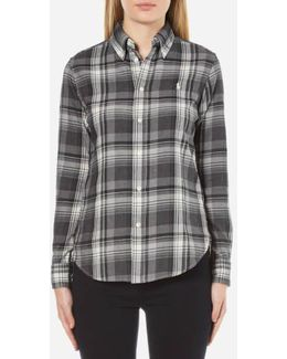 Women's Georgia Brushed Plaid Shirt