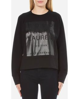 Women's Crew Neck Modern Fleece