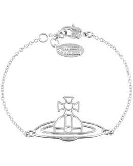 Women's Thin Lines Flat Orb Bracelet