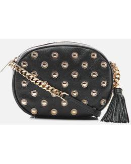 Women's Ginny Studded Mid Messenger Bag
