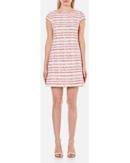 Women's Tweed Shift Dress