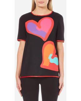 Women's Big Heart Tshirt