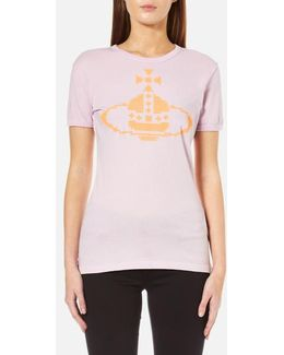 Women's Embroidered Orb Tshirt