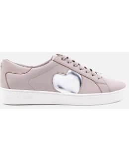 Women's Keaton Heart Leather Trainers