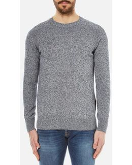 Men's Cotton Staple Crew Knitted Sweater