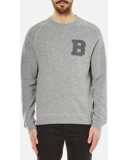 Men's B Crew Neck Sweater