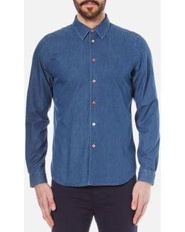 Men's Long Sleeve Tailored Fit Shirt