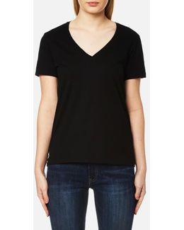 Women's V Neck Tshirt