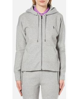 Women's Full Zip Hooded Top
