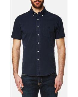 Men's Seersucker Short Sleeve Shirt