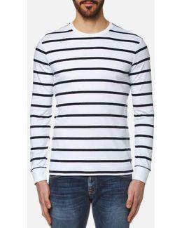 Men's Long Sleeve Striped Tshirt