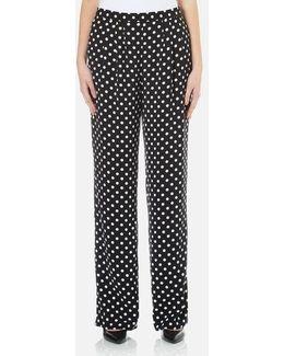 Women's Medium Dot Pants