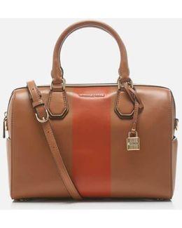 Women's Centre Stripe Mercer Medium Duffle Bag