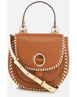 Women's Isadore Medium Pebble Leather Messenger