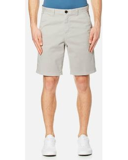 Men's Slim Garment Dye Shorts