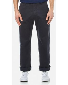 Men's Thin White Duke Trousers