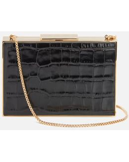 Women's Scarlett Box Clutch Bag