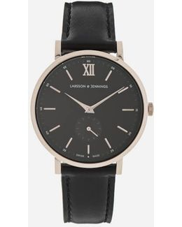 Small Kulor 38mm Leather Watch