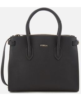 Women's Pin Small East West Tote Bag
