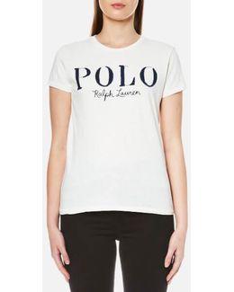 Women's Polo Logo Tshirt