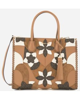 Women's Mercer Patchwork Large Conversational Tote Bag