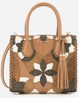 Women's Mercer Patchwork Medium Messenger Bag