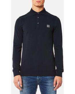 Men's Paulyn Long Sleeve Polo Shirt