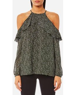 Women's Cole Cold Shoulder Top