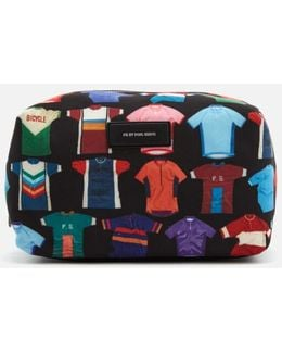 Men's Cycle Jersey Print Wash Bag