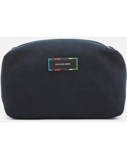 Men's Canvas Wash Bag