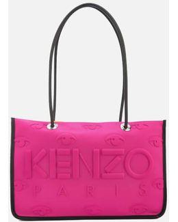 Women's Neoprene East West Tote Bag