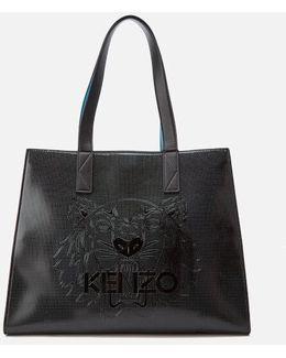 Women's Tiger Icon Horizontal Tote Bag