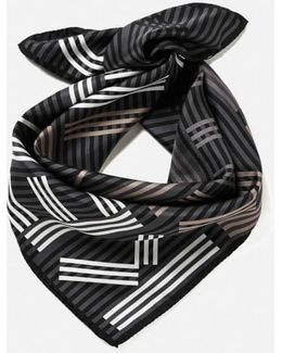 Women's High End Icons Silk Scarf