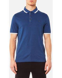 Men's Logo Collar Polo Shirt