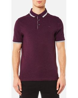 Men's Logo Collar Polo Shirt