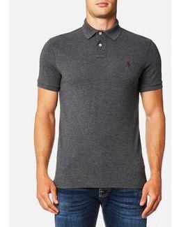 Men's Custom Fit Mesh Polo Shirt