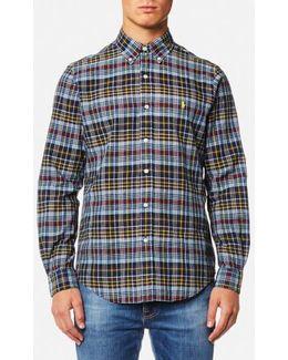 Men's Madras Check Shirt