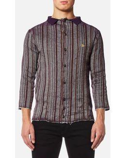 Men's Pilgrim Stripe Knitted Shirt