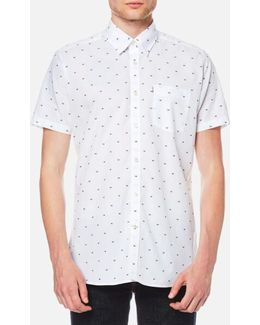Men's Crab Short Sleeve Shirt