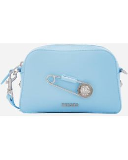 Women's Safety Pin Small Cross Body Bag