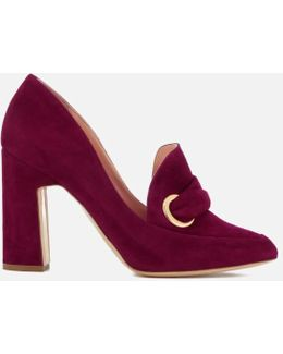 Women's Monique Suede Heeled Shoes