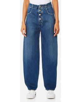 Women's Denim Wide Leg Jeans