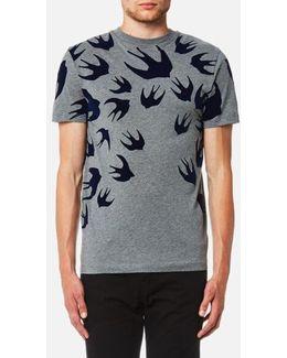Men's Swallow Swarm Pigment Tshirt
